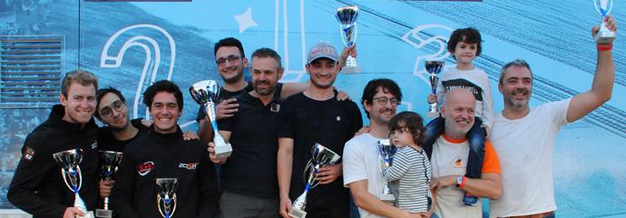 Podium Nogaro 2018